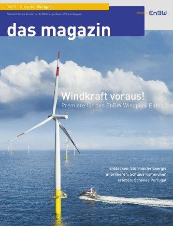 EnBW-Kundenmagazin - Online-Journalismus