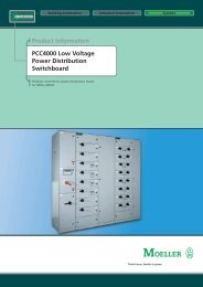Moeller PCC4000 Brochure - EMS: Electrical Manufactured Solutions