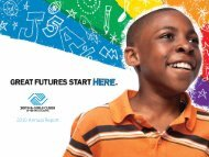 2010 Annual Report - Boys & Girls Clubs of Metro Atlanta