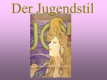 Jugendstil Möbel-Design - Kunstfreunde Gerlingen