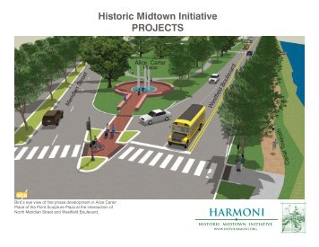 Historic Midtown Initiative PROJECTS HARMONI - Midtown Indy