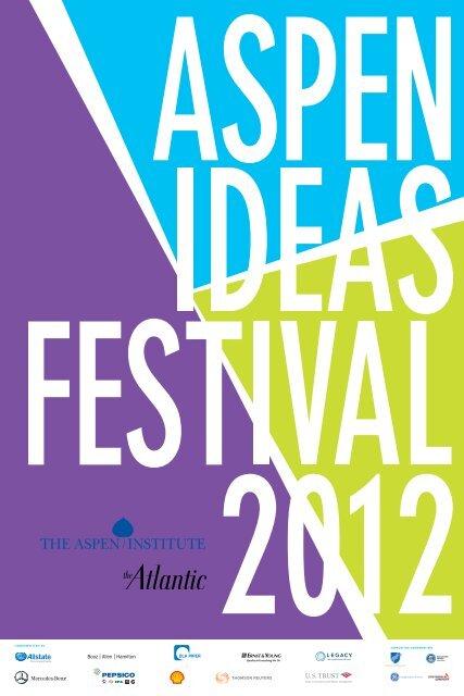 to download the PDF - Aspen Ideas Festival