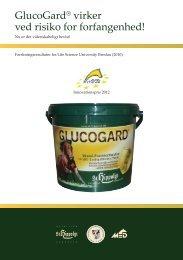 Læs folder om forskningsprojekt med GlucoGard her - St. Hippolyt