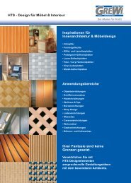 HTS - Design für Möbel &  Interieur ... - GREWI Handels  GmbH