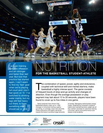 Basketball Sports Nutrition