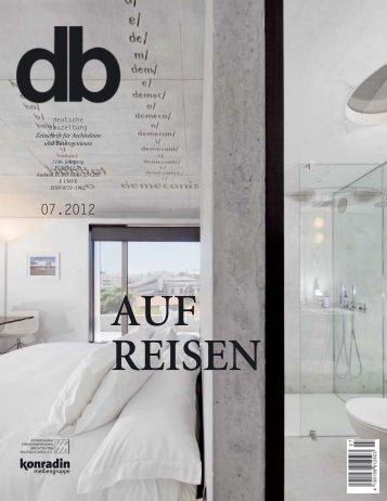 Deutschen Bauzeitung Nr.7 | 2012 - Ettlin – Lichtstrukturen