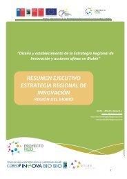 RESUMEN EJECUTIVO ESTRATEGIA REGIONAL DE INNOVACIÓN