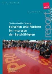 biwifo report 03/2007 - ver.di: Bildung, Wissenschaft und Forschung