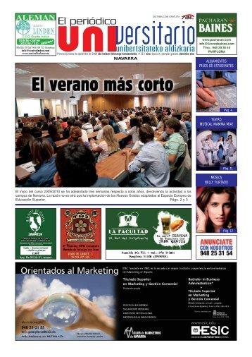 313 - 1º quincena de Septiembre - El Periodico Universitario