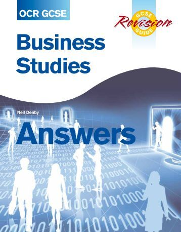 gcse business studies Gcse business studies revision topics include business environment, business organisations, organisation structure, supporting and controlling business activity, managing human resources, finance and accounting and marketing production.