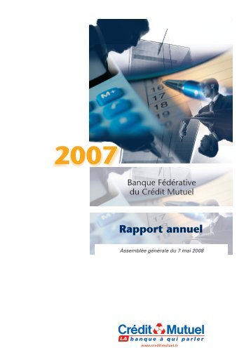 Decembre 2007 - Banque Fédérative du Crédit Mutuel