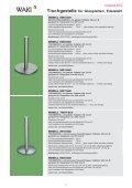 Tischgestelle für Glasplatten, Stahl verchromt - Waki Killmer GmbH - Seite 2