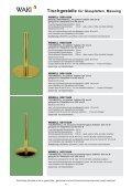 Tischgestelle für Glasplatten, Stahl verchromt - Waki Killmer GmbH - Seite 6