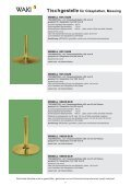 Tischgestelle für Glasplatten, Stahl verchromt - Waki Killmer GmbH - Seite 7