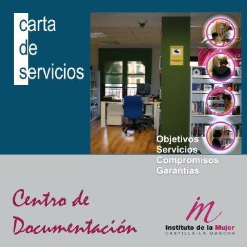 Carta de Servicios Centro de Documentación del Instituto de la Mujer