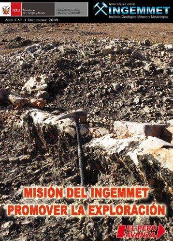 Dirección de Concesiones Mineras - Instituto Geologico Minero ...