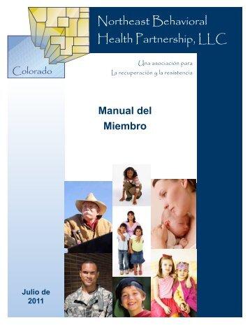 Manual de Miembro - NBH Partnership