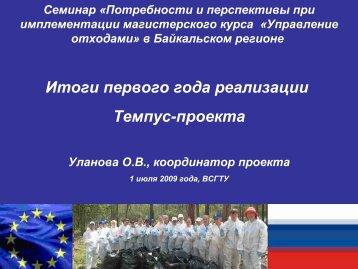 (координатор О.Уланова) 1,63 MB - an den technischen ...