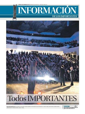 DE LOS IMPORTANTES - Diario Información