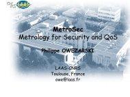 MetroSec - LAAS CNRS