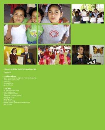1. Responsabilidad Social Empresarial en Bci 2. Premios 3 ...