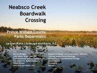 Neabsco Creek Boardwalk Crossing - Lardner/Klein Landscape ...