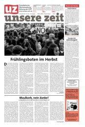 """Alfredo Bauers Romanzyklus """"Die Vorgänger"""" - DKP"""