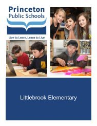 Packet (pdf) - Littlebrook Elementary School - Princeton Public ...