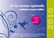 calendario 2010 Por un consumo responsable, cambiemos ... - Cecu