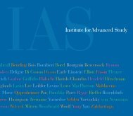 IAS Book - Institute for Advanced Study