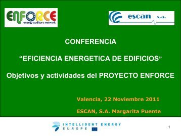 """Ponencia """"Eficiencia energética de edificios"""" - Cecu"""