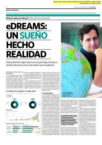 Un sueño hecho realidad - eDreams