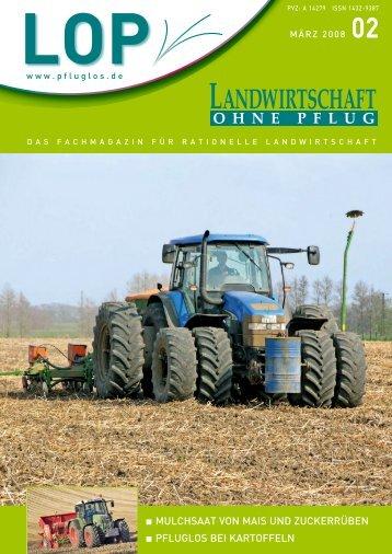 thomas - Landwirtschaft ohne Pflug, Emminger & Partner GmbH