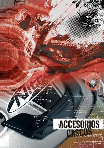 accesorios cascos - Mge.es