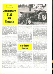 John Deere Einsatz - IG SmZ
