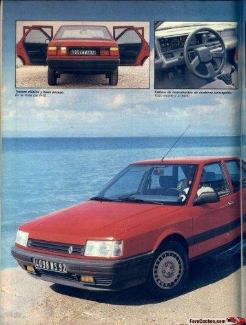 Primer contacto Renault 21