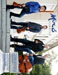 Tour Period - Miró Quartet