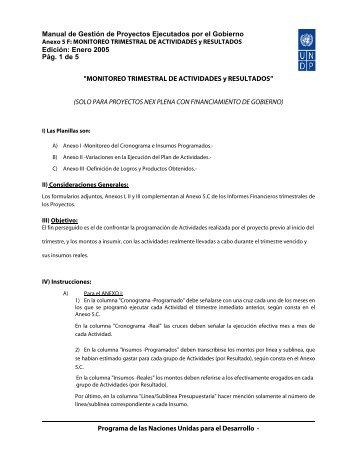 Anexo 5 - Inicio | UNDP