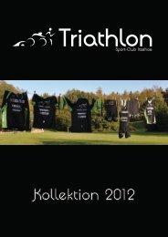 Kollektion 2012 - SCI Triathlon