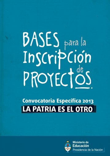 bases - Minisitios del Ministerio de Educación