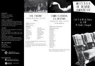 Mostra de Teatre Amateur 2011 (pdf) - Ajuntament de Vilanova i la ...