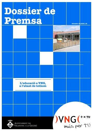 educació 2009 - Ajuntament de Vilanova i la Geltrú