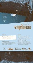 Preu únic: 6€ per concert - Ajuntament de Vilanova i la Geltrú