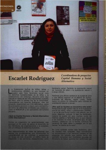Escarlet Rodriguez - CHS Alternativo