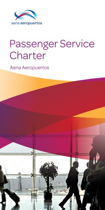 Services offered to passengers. PDF - Aena Aeropuertos