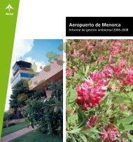 Aeropuerto de Menorca - Aena Aeropuertos