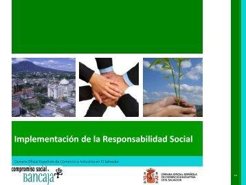 Implementación de la Responsabilidad Social