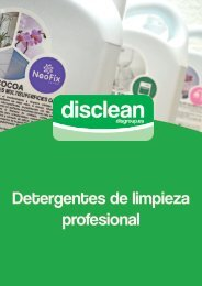 Disclean catalogo completo 2015