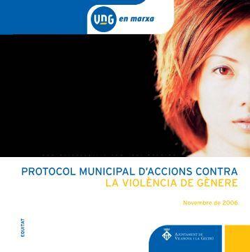 Protocol genere - Ajuntament de Vilanova i la Geltrú
