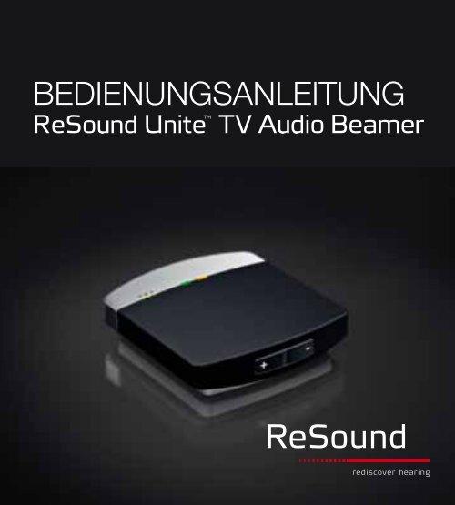 ReSound Unite TV - Bedienungsanleitung (Zuletzt aktualisiert 14.11 ...